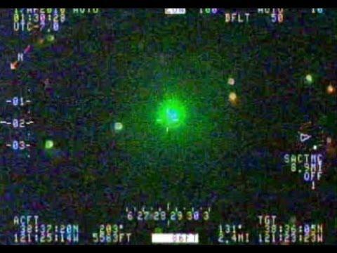 Laser Pointer Leads to Arrest