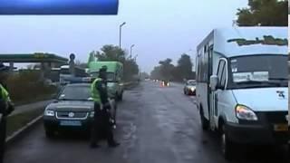 Гаишники задержали пьяного водителя маршрутки