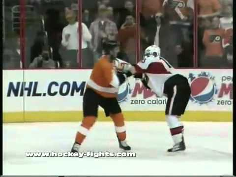 Jesse Winchester vs. Jeff Carter Fight