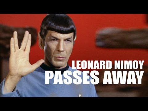 The Original Spock, Leonard Nimoy, Has Passed Away - The Know