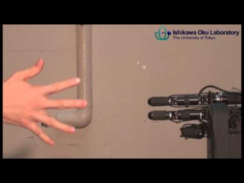 Janken (rock-paper-scissors) Robot with 100% winning rate