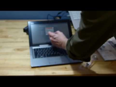 Fujitsu Stylistic Q702 Hybrid Unboxing and Overview by Chippy