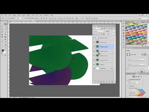 Photoshop CS6 New Features - Pentool / Stroke /Layer Palette Filters