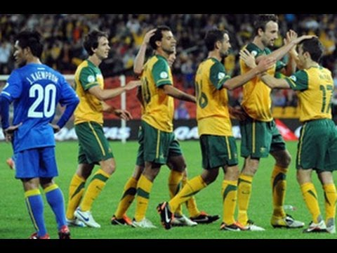 Australia vs Thailand: 2014 FIFA World Cup Asian Qualifiers - (Round 3 - Match Day 1)