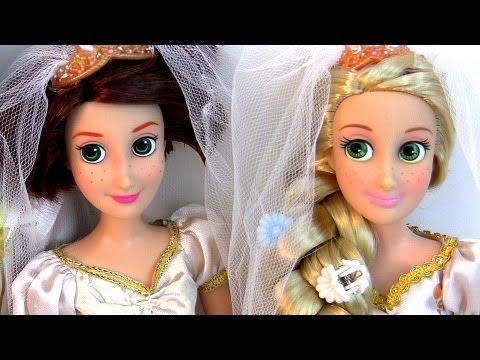 Tangled Wedding Wedding Doll Tangled Ever