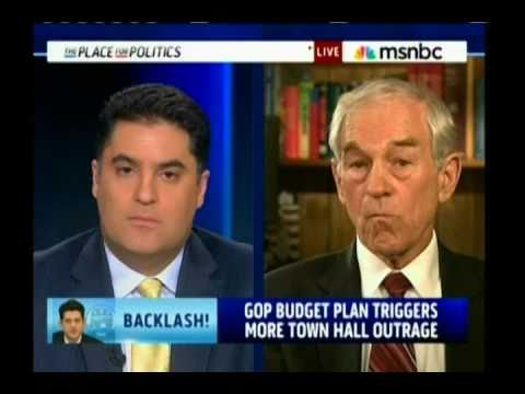 Ron Paul - End Medicare, Social Security & Medicaid?