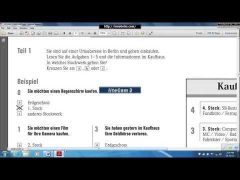 Teil 2 -Start Deutsch A2 إمتحان المستوى الثاني-تعليم اللغة الألمانية-تدريب على امتحان معهد جوتة