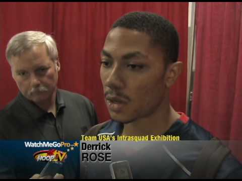2009 Team USA Interviews: Derrick Rose