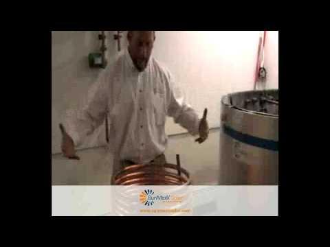 Copper Coil Heat Exchanger for Non-Pressurized Solar Thermal Tanks