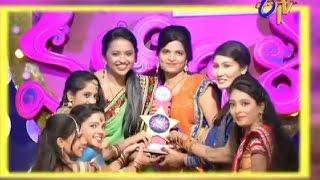 Star Mahila 25-08-2014 | E tv Star Mahila 25-08-2014 | Etv Telugu Show Star Mahila 25-August-2014