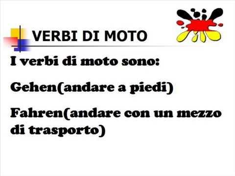 Lezioni di tedesco 13- verbi di luogo