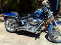 Harley-Davidson Softail - Vance &amp; Hines Big Radius Exhaust