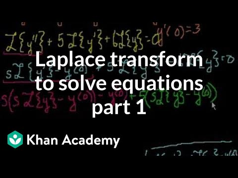 Laplace Transform to solve an equation