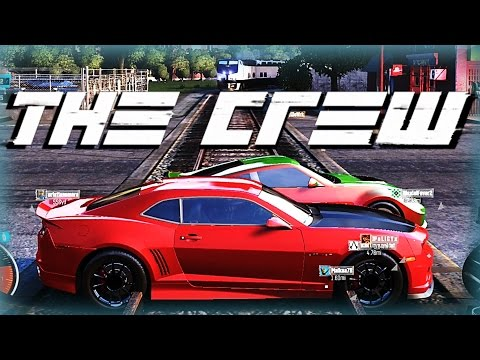 The Crew Funny Moments w/ BasicallyIDoWrk - Train Crashes, Jumps, and Races!