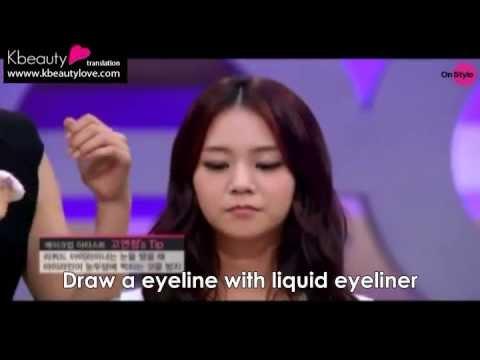 [Eng] GET IT BEAITY KARA Han Seungyeon Asian eye makeup tutorial