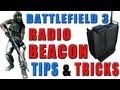 bf - battlefield 3 recon pro tips & tricks | radio beacon tutorial