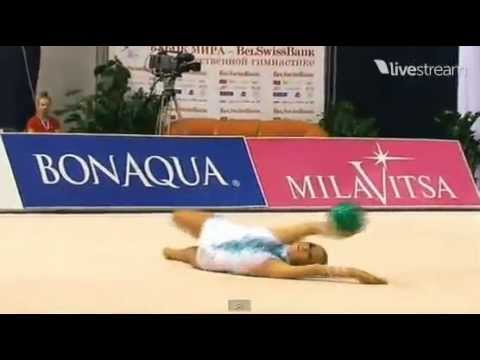 Daria Dmitrieva ball AA World Cup Minsk 2012
