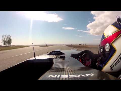 Nissan DeltaWing In-Car Video