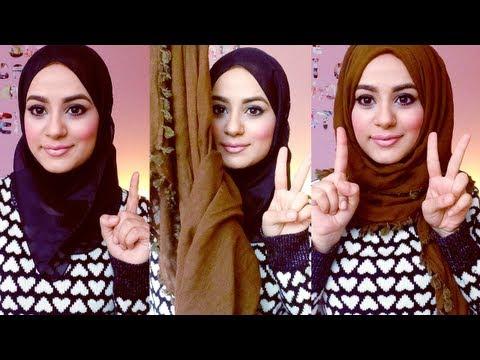 Hijab Tutorial : Square Scarf! -3ws4qnt-gdM