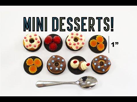 Mini Candy Desserts! Cupcakes, Bundt Cakes & Tiny Jello's | Elise Strachan