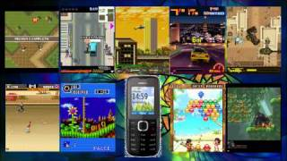 Nokia C1-01 Games view on youtube.com tube online.