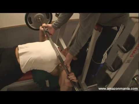 Oana Hreapca: 120 kg Bench Press