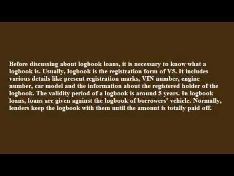 logbook loan