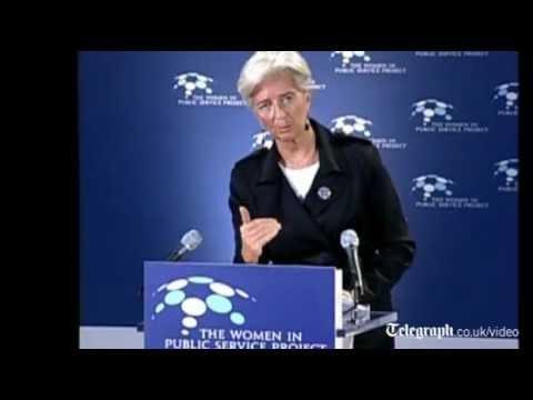 IMF chief Christine Lagarde warns that global economic outlook is -gloomy-