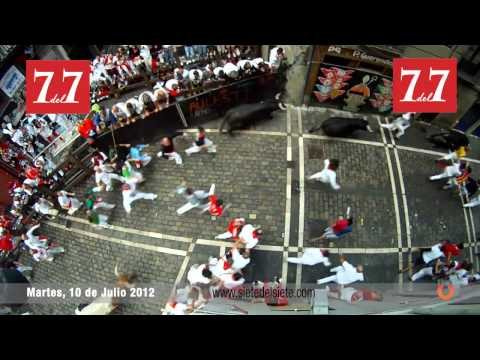 Encierro 10 de Julio 2012 - El Pilar