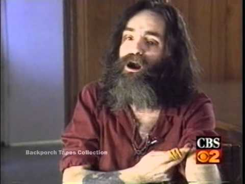 CBS 2 Charles Manson wants out of Prison San Quentin clip Rebroadcast Los Angeles Backporch Tapes