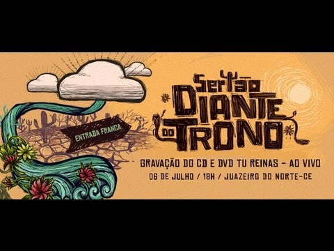 Participe do CD/DVD Tu Reinas – Diante do Trono