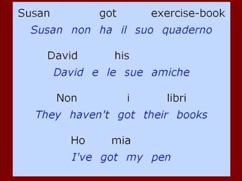 Esercizi (n. 9) per CORSO D'INGLESE - Traduzione frasi