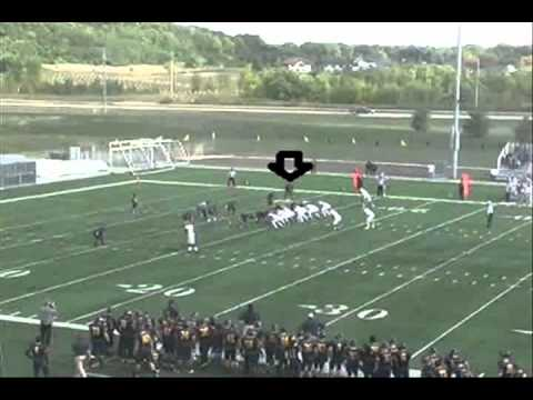 Tyler Miles RCTC 2011 DB Highlights (First 8 Games)