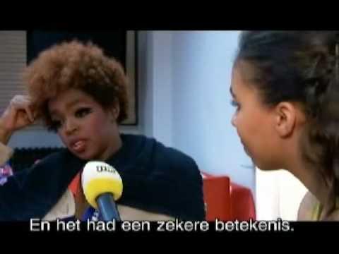 Lauryn Hill interview in Belgium (2007) Part 1 of 2