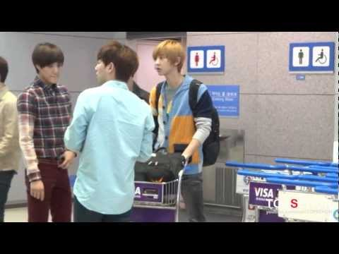 20120921 EXO-K Incheon Airport-2 (going to Jakarta)