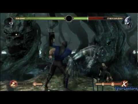 MK9 - Sub Zero Combo Compilation - Mortal Kombat 9 (2011)