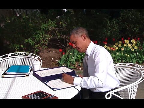 President Obama Signs the Medicare Access and CHIP Reauthorization Act