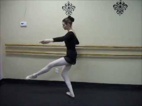 Adult Ballet Dancer - Beginner Pointe Class