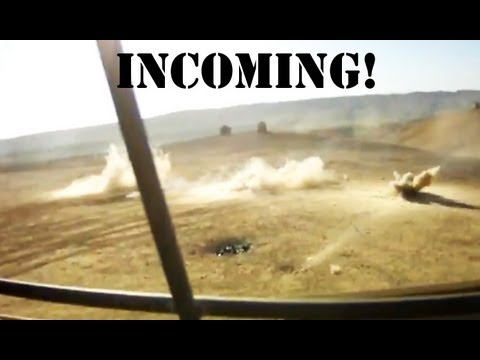 MORTARS HIT US CONVOY IN AFGHANISTAN