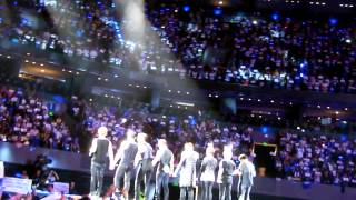 (FanCam) SuJu (슈퍼주니어) -- Marry U + Closure || SS5 (México) 7/11/2013