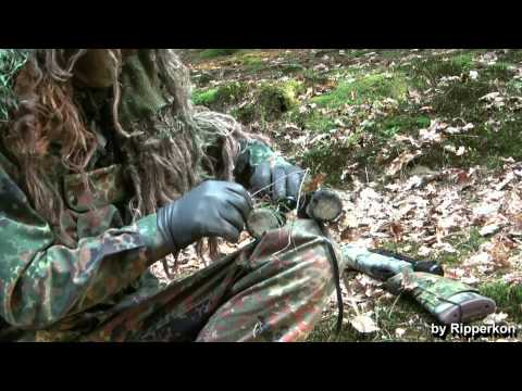 Ghillie Suit Tips - Different Ways to camouflage Equipment (Part 2/2)