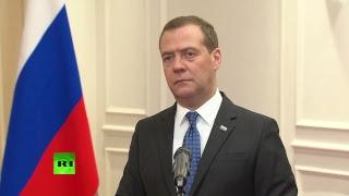 Пресс-подход Дмитрия Медведева
