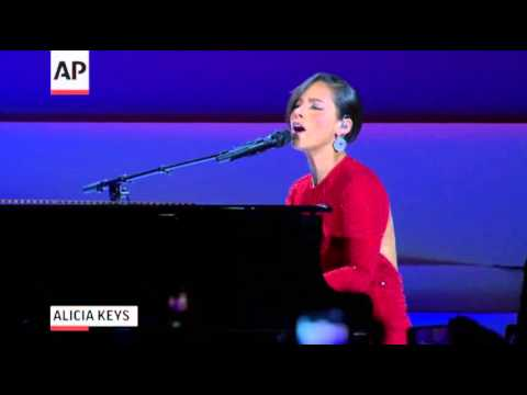 Stars Light Up Inaugural Ball Stages