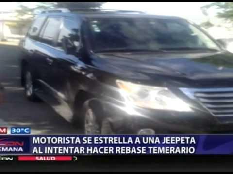 Accidente en Los Prados.