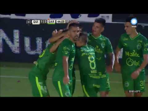 Primera División: Sarmiento logró una gran victoria ante Quilmes