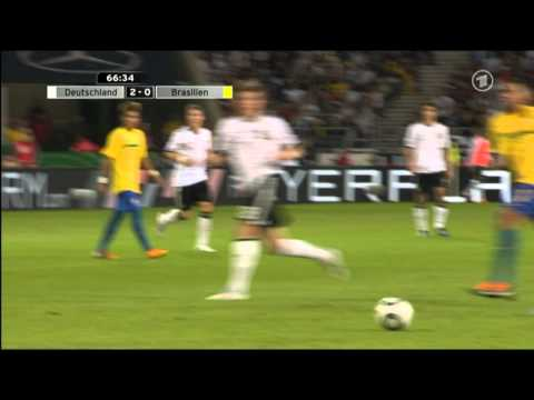 Deutschland vs Brasilien 3-2 (Germany vs Brazil) [Aug 10 2011] 2-0 Mario Götze