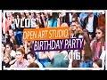 Open Art Studio | День рождения 2016 | Яна Заец & Ольга Фреймут | Milena Way