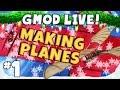 GMod Planes Livestream Part 1 - Sjinook