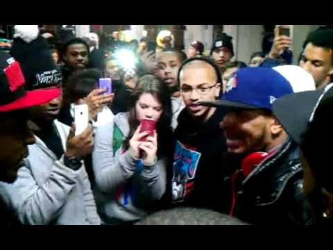Los Freestyle Cypher - UNCUT- IN BOSTON - WOW!!!
