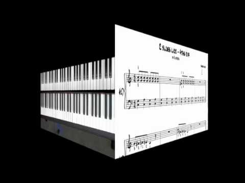 Easy Blues Piano Lessons - Bluesy 4ths Riff (Part 1)